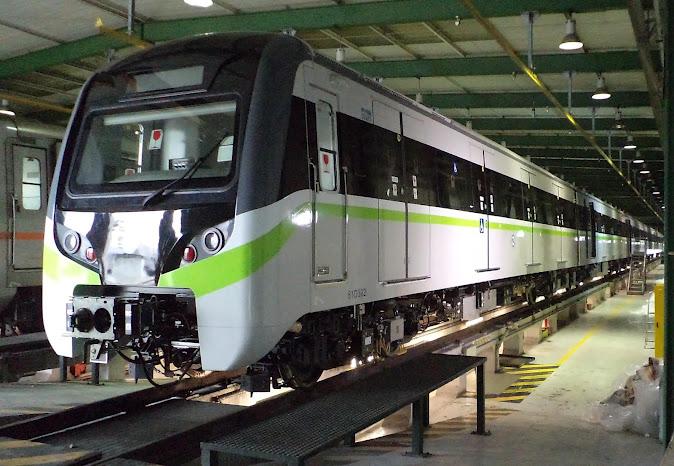 Αποτέλεσμα εικόνας για Μετρό Θεσσαλονίκης : Το καλοκαίρι του 2018 θα φτάσουν τα πρώτα τρένα